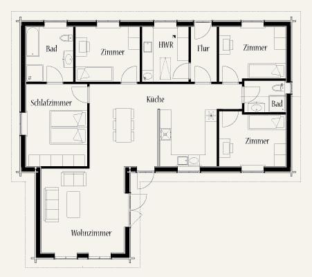 Wohnhäuser grundrisse